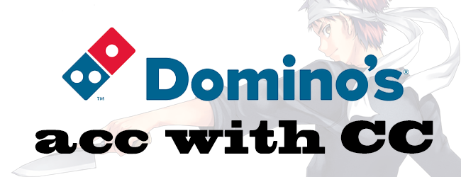 [US] Domino's account with CC