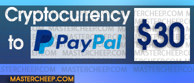 Exchange cryptocurrency to paypal