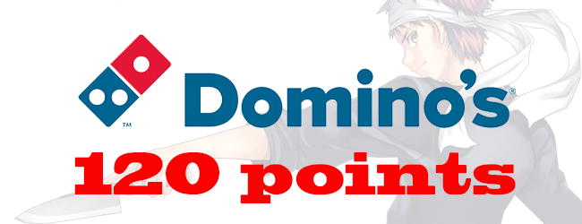 [US] 120pts Domino's account